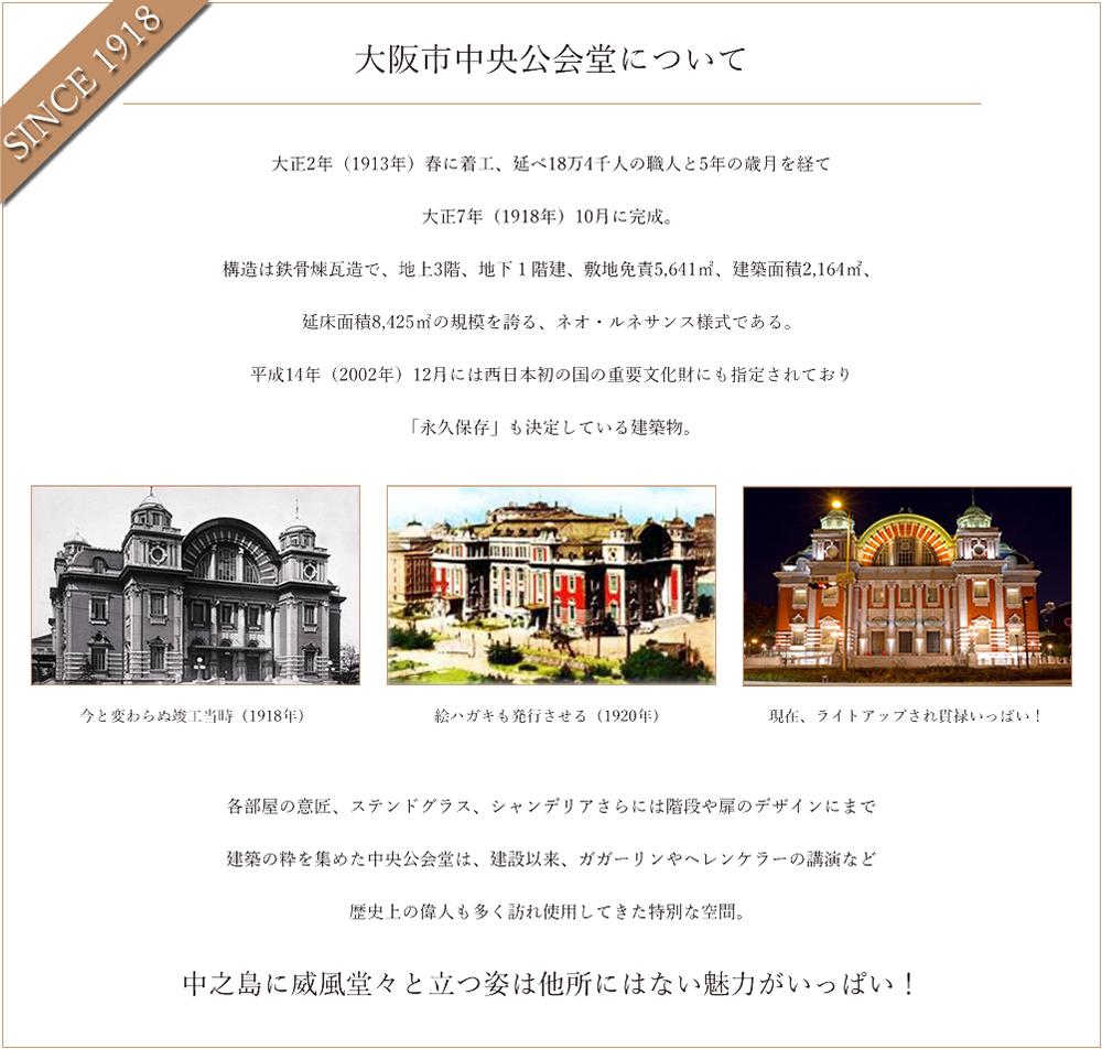 中央公会堂の歴史